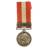Canada General Service Medal 1866-1870 (Clasp - Fenian Raid 1866) - Pte. J.G. Kinnear, Chicago Volunteers