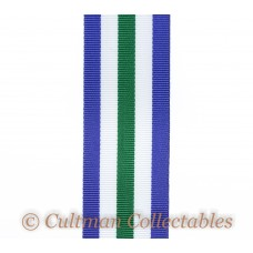 Royal Naval Reserve Long Service & Good Conduct Medal Ribbon (3rd Type) – Full Size