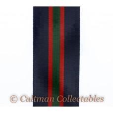 Royal Naval Volunteer Reserve Decoration Medal Ribbon – Full Size