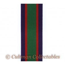 Royal Naval Volunteer Reserve Long Service & Good Conduct Medal Ribbon – Full Size