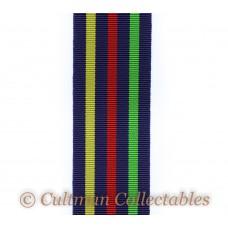Civil Defence Long Service Medal Ribbon – Full Size