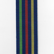 Civil Defence Long Service Medal Ribbon – Full Size