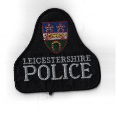 Leicestershire Police Cloth Pullover Patch Badge