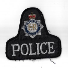 Ministry of Defence Police Cloth Pullover Patch Badge