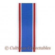 George VI 1937 Coronation Medal Ribbon – Full Size