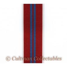 Elizabeth II 1953 Coronation Medal Ribbon – Full Size