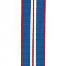 Elizabeth II 2002 Golden Jubilee Medal Ribbon – Full Size