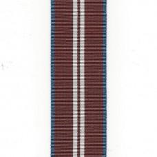 Elizabeth II 2012 Diamond Jubilee Medal Ribbon – Full Size