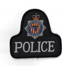 Northumbria Police Cloth Pullover Patch Badge