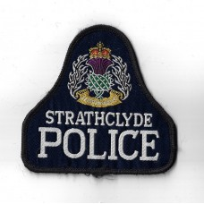 Strathclyde Police Cloth Pullover Patch Badge