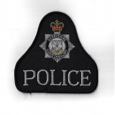 Derbyshire Constabulary Police Cloth Pullover Patch Badge