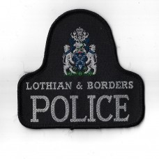 Lothian & Borders Police Cloth Pullover Patch Badge