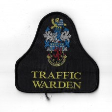 Devon & Cornwall Traffic Warden Cloth Pullover Patch Badge