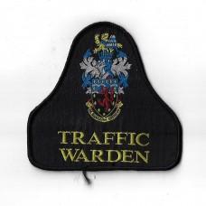 Devon & Cornwall Traffic Warden Cloth Pullover Patch Badge