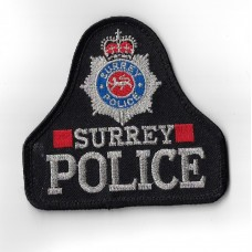 Surrey Police Cloth Pullover Patch Badge