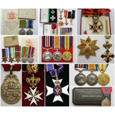 New medals listed today...