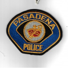 United States Pasadena Police Cloth Patch