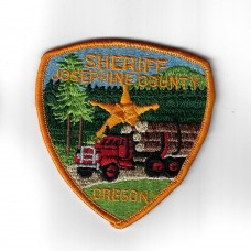 United States Josephine County Oregon Sheriff's Cloth Patch