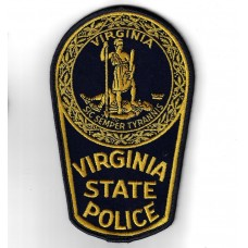 United States Virginia State Police Cloth Patch