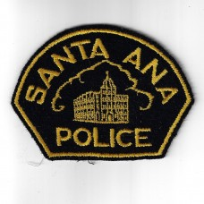 United States Santa Ana Police Cloth Patch