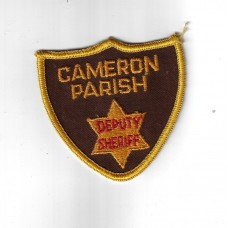 United States Cameron Parish Deputy Sheriff Cloth Patch