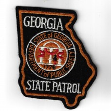 United States Georgia State Patrol Cloth Patch