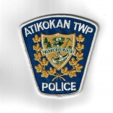 Canadian Atikokan TWP Police Cloth Patch