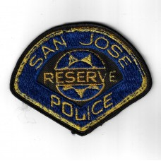 United States San Jose Reserve Police Cloth Patch
