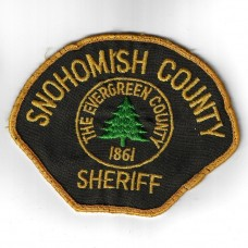 United States Snohomish County (Washington) Sheriff Cloth Patch