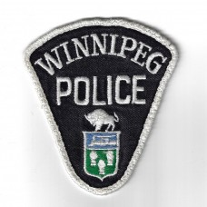 Canadian Winnipeg Police Cloth Patch