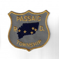 United States Passaic Township P.D. Cloth Patch