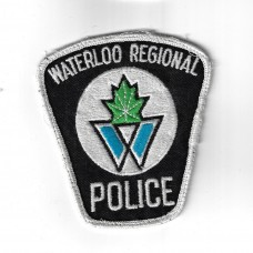 Canadian Waterloo Regional Police Cloth Patch