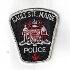 Canadian Sault Ste. Marie Police Cloth Patch