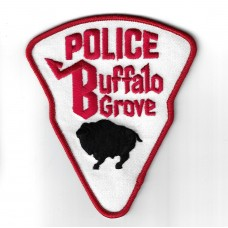 United States Buffalo Grove Police Cloth Patch