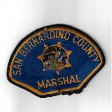 United States San Bernardino County Marshal Cloth Patch