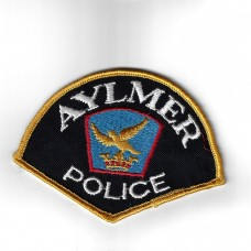 Canadian Aylmer Police Cloth Patch