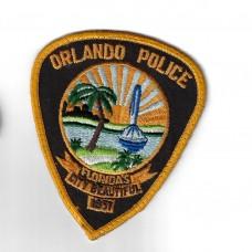 United States Orlando Police Cloth Patch