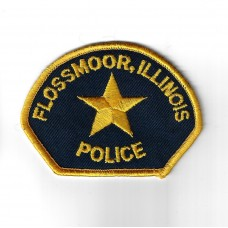 United States Flossmoor Illinois Police Cloth Patch