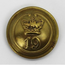 Victorian 19th (1st Yorkshire, North Riding) Regiment of Foot Button (Large)
