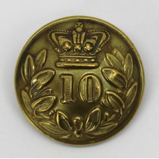 Victorian 10th (North Lincoln) Regiment of Foot Button (Large)