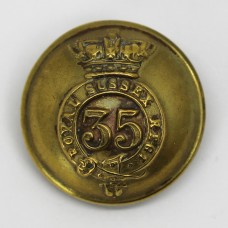 Victorian 35th (Royal Sussex) Regiment of Foot Button (Large)