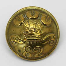 Victorian 82nd (The Prince of Wales's Volunteers) Regiment of Foot Button (Large)
