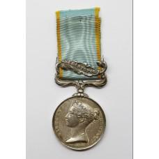 1854 Crimea Medal (Clasp - Sebastopol) - Unnamed