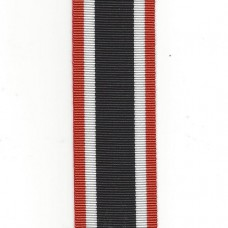 German WW2 War Merit Cross 1939 Medal Ribbon – Full Size