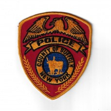 United States County of Suffolk New York Police Cloth Patch