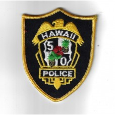United States Hawaii Police Cloth Patch