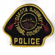 United States Dakota Ojibway Tribal Council Police Cloth Patch