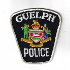 Canadian Guelph Police Cloth Patch
