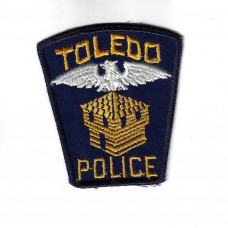 United States Toledo Police Cloth Patch