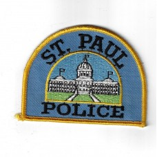 United States St. Paul Police Cloth Patch